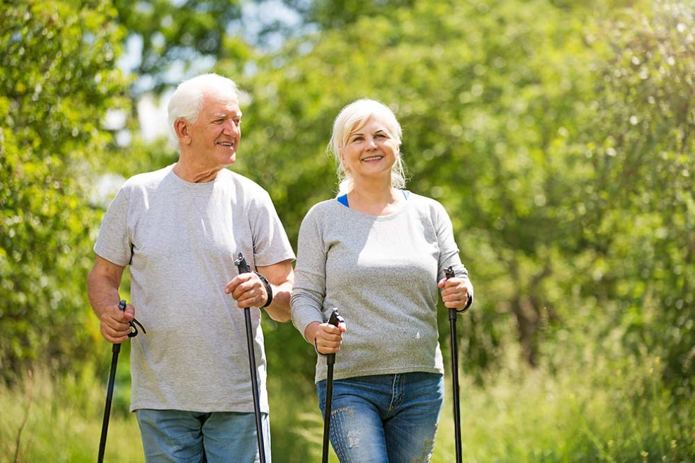 Why Nordic Walking is a smart way to go